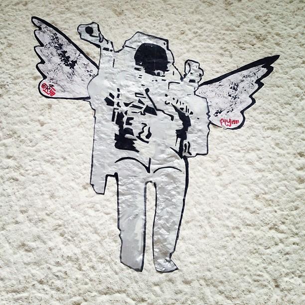 Der Astronauten Engel.