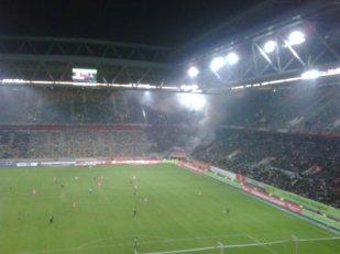 ein Montagabend mit Freunden im Stadion - Fortuna 95 ole