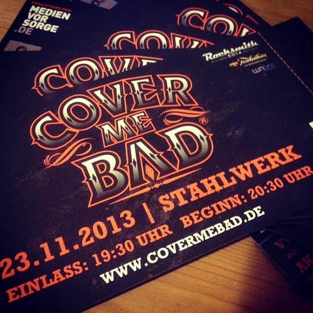 """""""Cover Me Bad Festival"""" im Stahlwerk."""