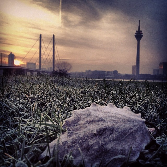 It's getting frosty :-)