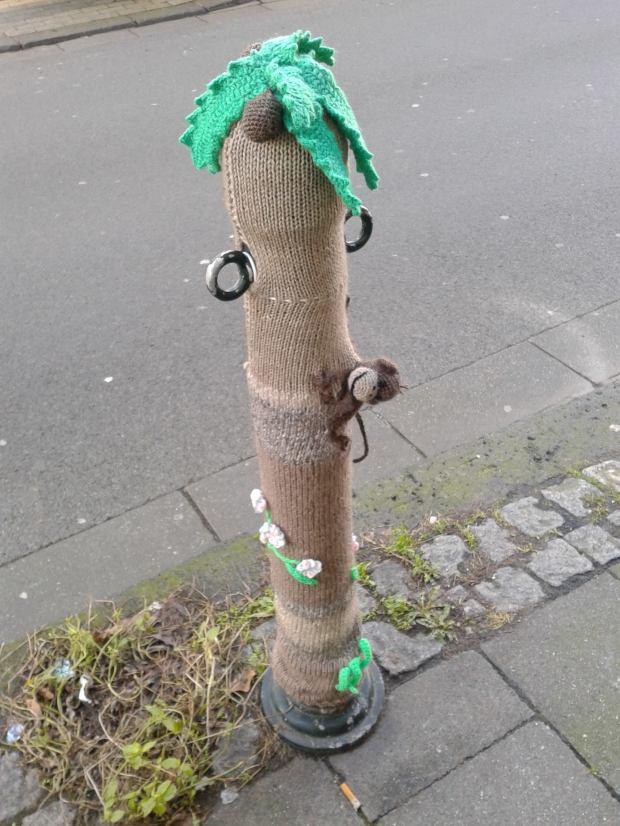 Gesehen auf der Kronenstraße. Bild: Svenja Jansen