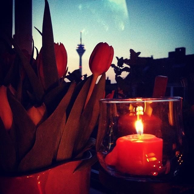 Einfach mal den Abend genießen :-)