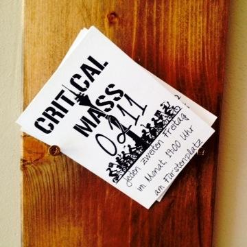 Critical Mass – Radler aller Länder, vereinigt Euch (zufällig) ;-)