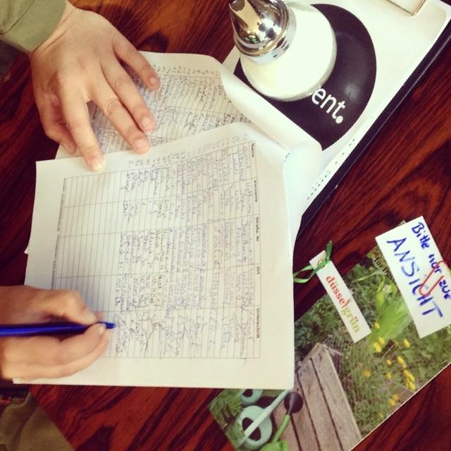 Urban gardening - Unterschriften sammeln für den Erhalt von DüsselGrün (Haifastr)