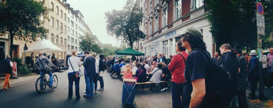 """Sommerfest vom """"Cafe Grenzenlos"""""""