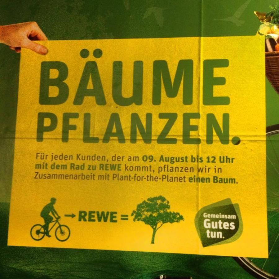 Radeln für Bäume :-)