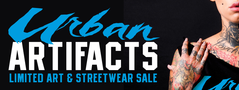 Urban Artifacts – Limited Art & Sales Event