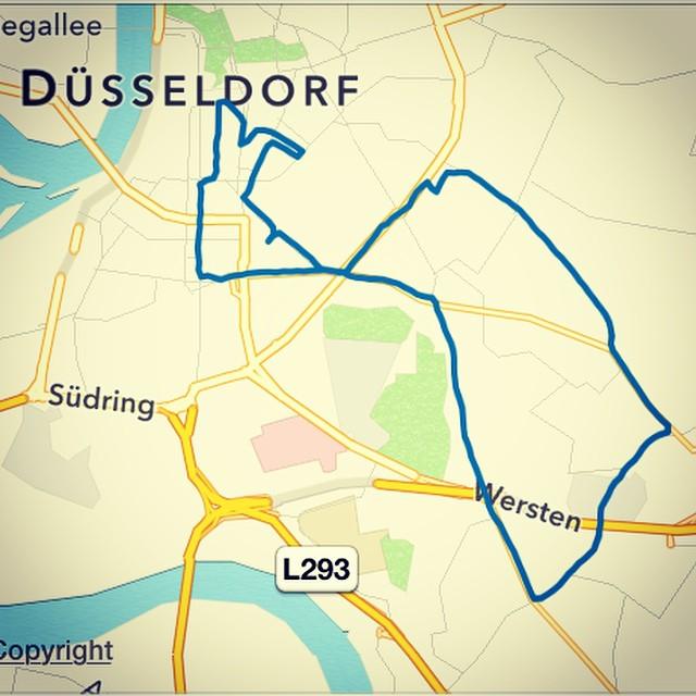 120 TeilnehmerInnen bei der #CriticalMass in Düsseldorf (Strecke: 17,8 km)