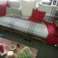 DIY Sofa aus Paletten
