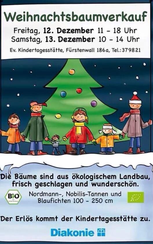 Der Kauf des Weihnachtsbaums ist Vertrauenssache ;-)