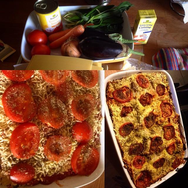 Küchen Intermezzo: Gemüse-Lasagne im Selbstbau