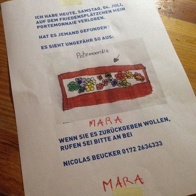Kann jemand Mara helfen?