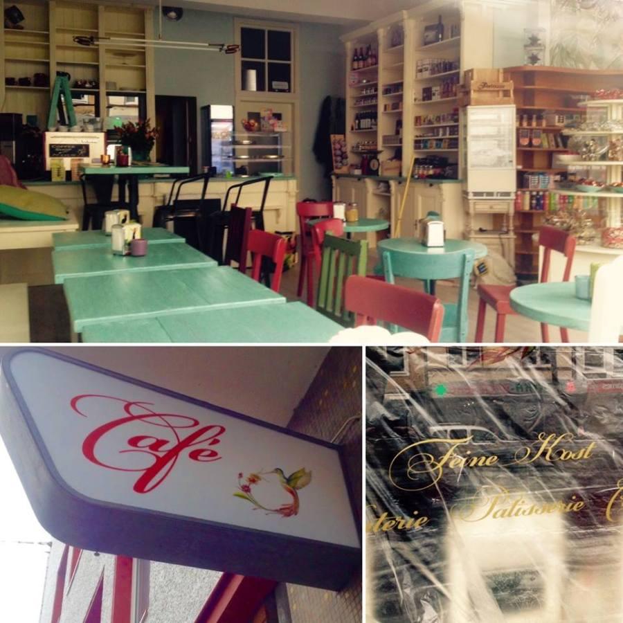 Neues Cafe auf der Bilkerallee