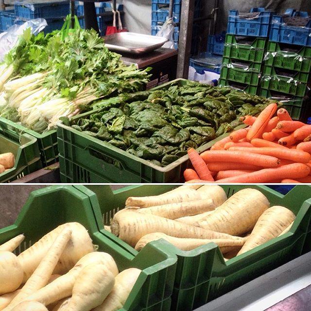 Saisonaler Einkauf auf dem Bauernmarkt