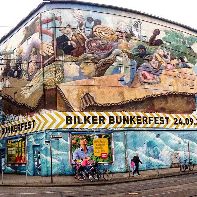 Bunkerfest im BilkerBunker auf der Aachenerstraße