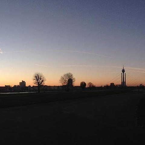 Morgendlicher Blick zurück…