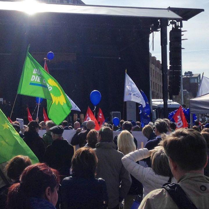 March for Europe Düsseldorf