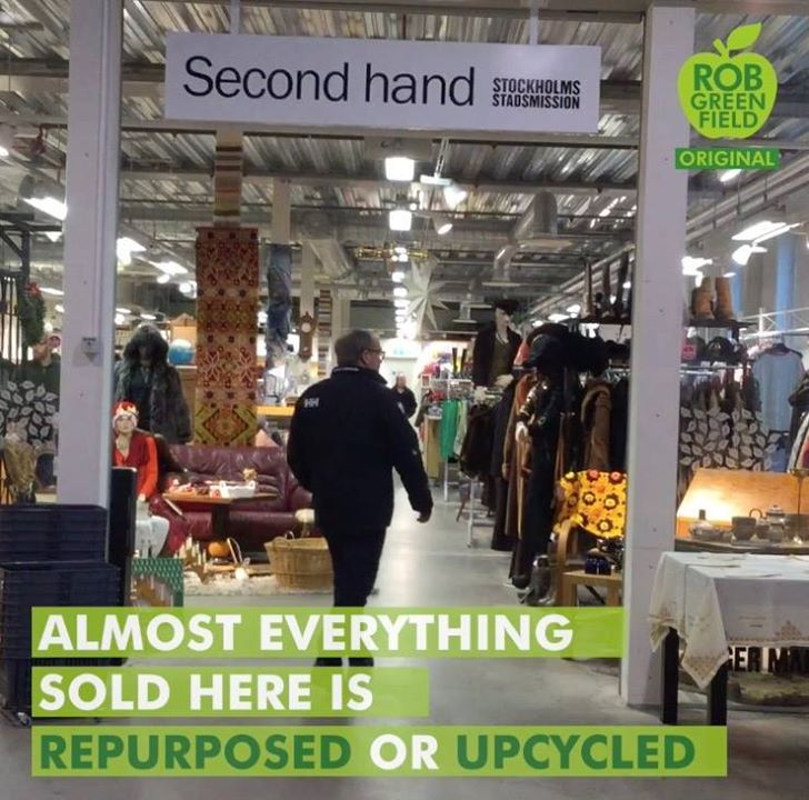 Konsum anders denken – ReTuna Recycling und Upcycling Mall