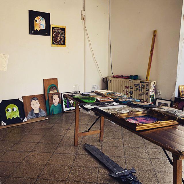Sticky Art Ausstellung in der Brause