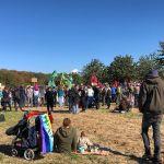 Waldspaziergang im Hambacher Forst - Gewaltfrei bedeutet nicht harmlos :-)