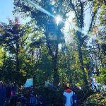 Waldspaziergang im Hambi und ein Besuch beim 'Waldkindergarten'