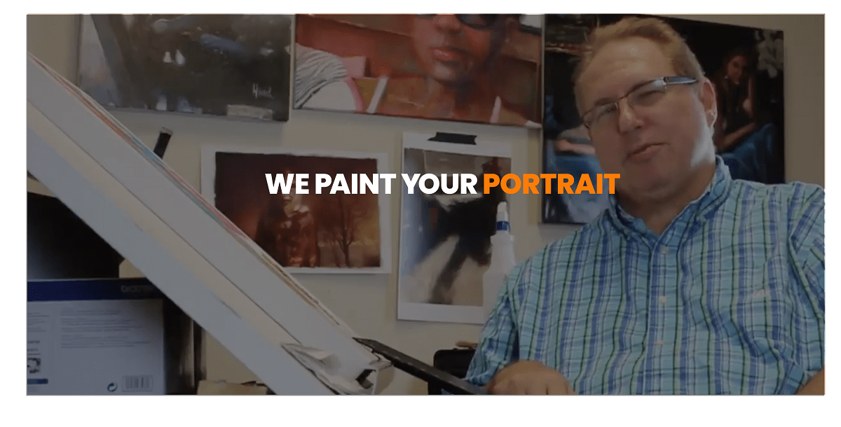 We Paint Your Portrait