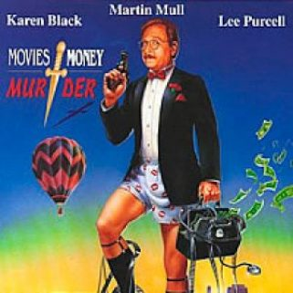DVD cover art for Movies Money Murder starring Karen Black, Marin Mull, Lee Purcell