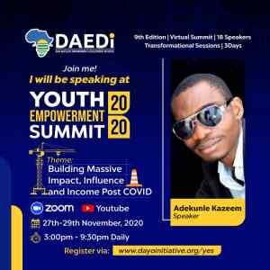 adekunle-kazeem-youth-summit-2020