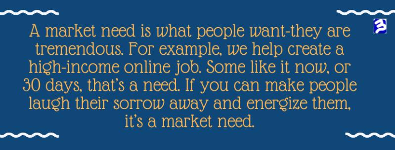 market-need