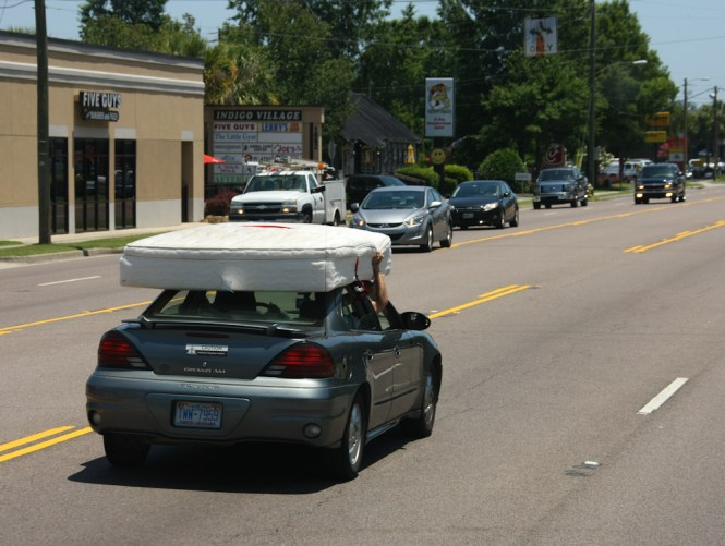 The Reason Is Because Folks Transport Mattresses W O Sufficient Tie Downs And