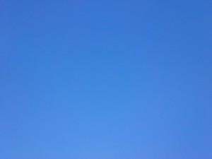 October Blue Sky