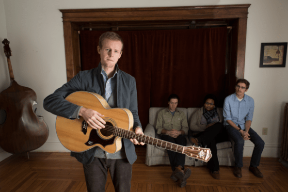The lineup of Doug Mains & the City Folk for the South for the Winter tour.