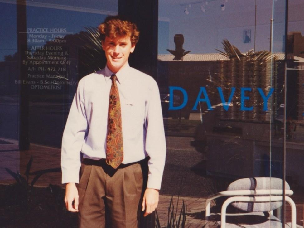 Bill Evans, Birtwill Street, July 1996.