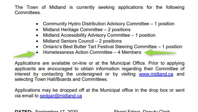 Committee Vacancies