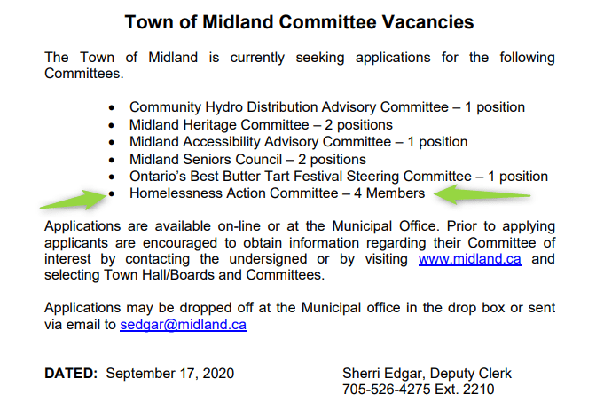 Committee Vacancies