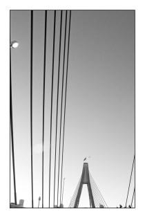 Anzac Bridge, Rozelle.