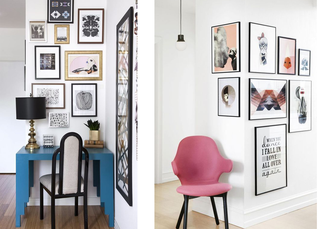 Home Inspiration Gallery Wall Billie Rose Blog