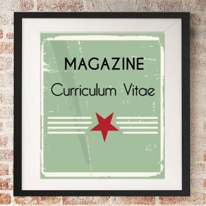 magazine curriculum vitae