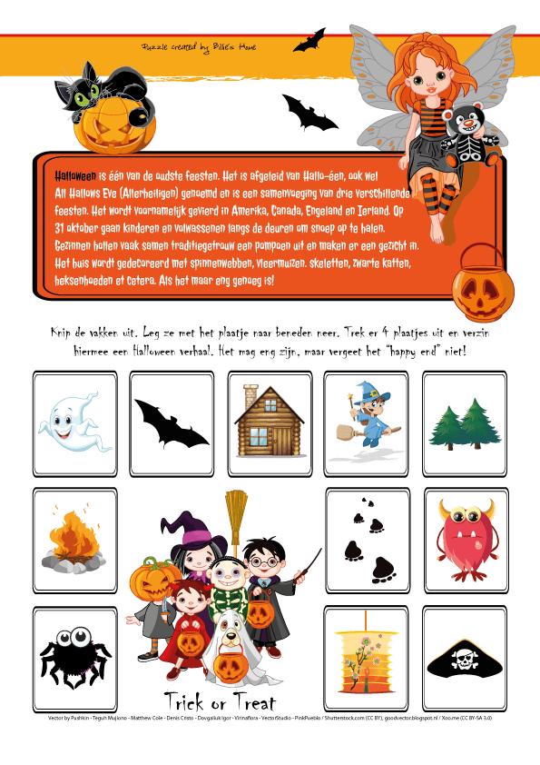 Puzzels - Kinder Puzzel Magazine herfst editie 2015