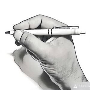 Kuglepen holdt i hånd - Billigekuglepenne.dk