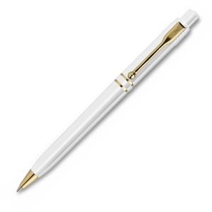 Raja Gold - Klassisk reklame kuglepen med flotte guld detaljer - Billigekuglepenne.dk