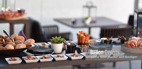 รับจัดงานเลี้ยงนอกสถานที่ รับจัดบุฟเฟ่ต์ จัดซุ้มอาหาร งานแคทเทอริ่ง (Catering & Banquet)