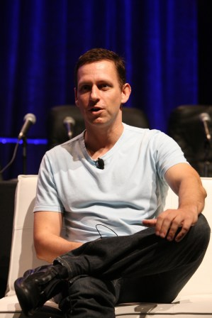 Peter Thiel at TechCrunch