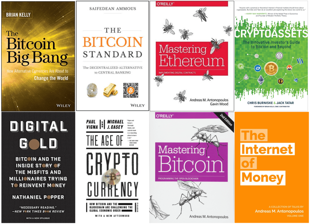 Best Bitcoin and Cryptocurrency Books Banner