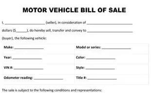 massachusetts bill of sale Car Bill Of Sale Ma - FREE DOWNLOAD