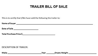 download bill of sale