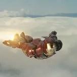 ironman flying