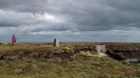 The Summit of Newbiggin Common / Westernhope Moor