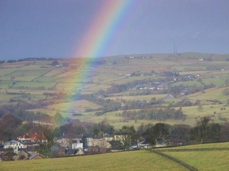 Rainbow over Allendale