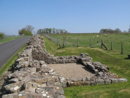 Hadrian's Wall at Birdoswald